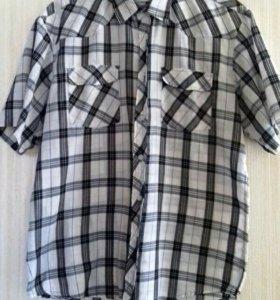 Мужская х / б рубашка 48 -50 раз