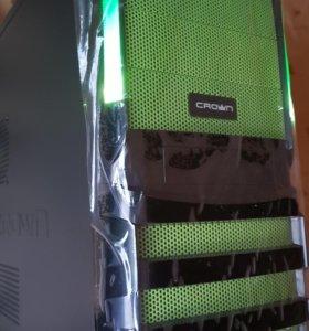 Новый игровой i3-7100-3.9/8Gb/RX560-4Gb/SSD120/500