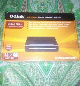 D-Link, DSL-2500U,ROUTER