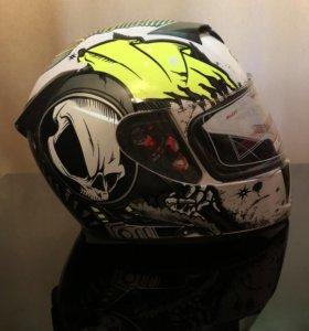 Мото шлем XL, M  новый.