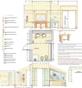 Дизайн-проект керамическая плитка, керамогранит.