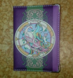 Новая обложка на паспорт!