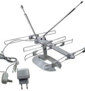 Домашняя антенна с усилителем сигнала
