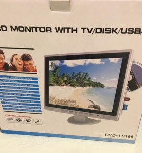 Телевизор ТВ 15 LCD Monitor with TV/DISK/USB/SD