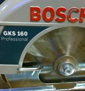 Пила циркулярная BOSCH GKS 160 Professional