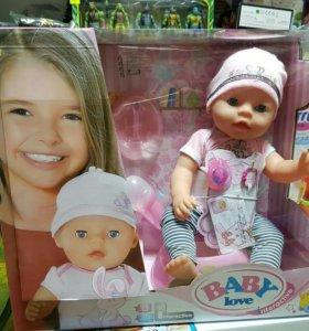 Новая кукла пупс беби Борн доставка