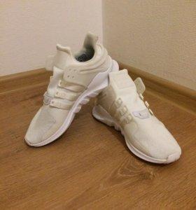 Белые кроссовки Adidas Originals EQT Support ADV