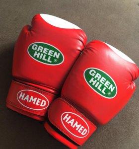 Боксёрские перчатки!