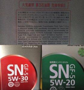 Оригинальное японское масло Toyota 5W-20 ,5W-30
