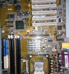 Asus P4P800-F и процессор Celeron D 2.5