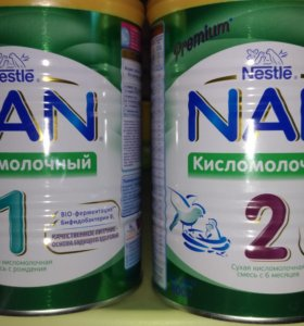Нан кисломолочный 2