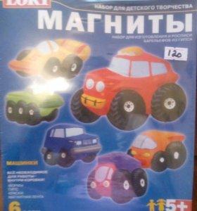 набор для детского творчества Магниты