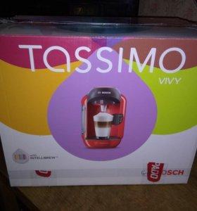 Кофеварка капсульная Bosch tas