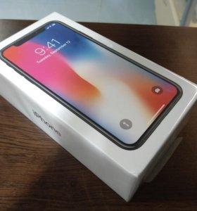 iPhone X 256gb Black Запечатанный