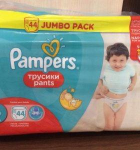 Трусики-подгузники Pampers 6