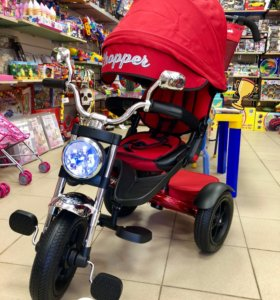 Велосипед-коляска CHOPPER 12/10 надувные колеса