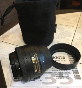 Nikon 35 mm 1.8g af-s dx
