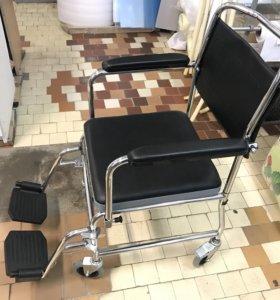 Стул каталка для инвалидов с ножками