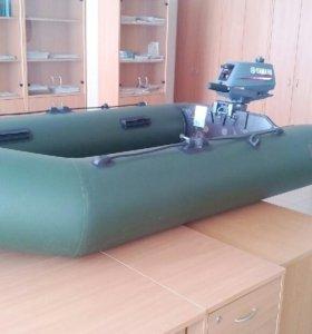 лодка аква 2600 мотор ямаха 3
