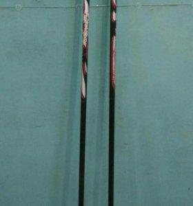 Лыжные палки, высота 160 см