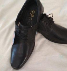 Туфли мужские размер 39 (новые)