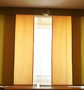 Японские шторы:красивы, удобны и модны!