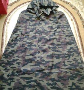 Плащ-палатка (накидка) офицерская камуфлированная.