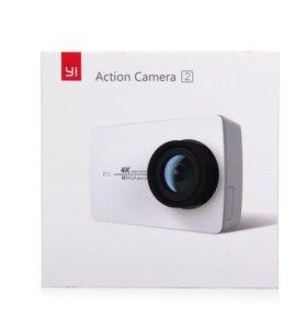 Xiaomi Yi 4K НОВАЯ Экшн-камера+чехол+штатив