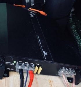 Кикс 600 Watts и Сабвуфер Edge 120001200