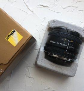Nikkor AF 50mm f/1.8D Nikon Lens
