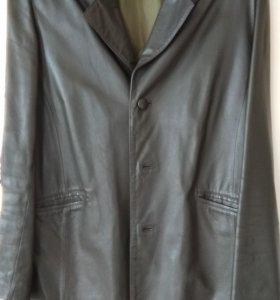 Пиджак кожанный,р.50-52