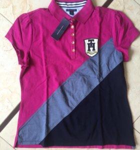 Женское поло футболка рубашка Tommy Hilfiger