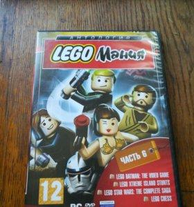 Диск с Lego играми