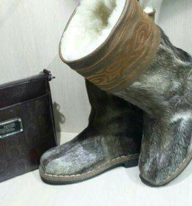 Тёплая обувь