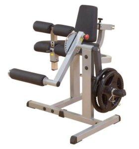 Тренажёр body-solid сгибание разгибание ног.