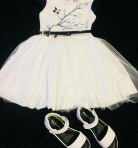 Пышное платье на девочку распродажа