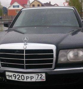Mercedes-Benz S-Класс, 1986
