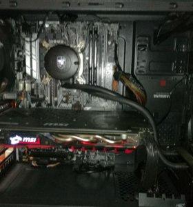 Компьютер для работы и игр на i5 7400 & gtx1060