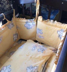 Детская кроватка,,,,почти новая,