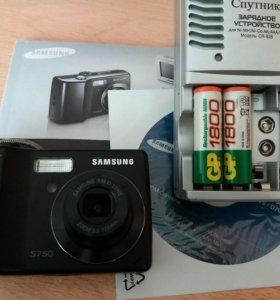 Фотоаппарат SAMSUNG S750 + зарядное. Торг