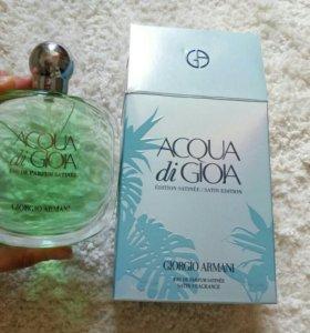Духи Acqua Di Gioia satin edition