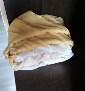 Тюль двухцветная.