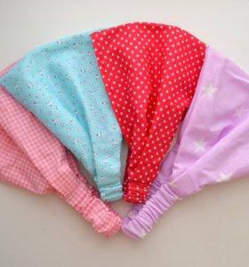 повязки для девочек из хлопка
