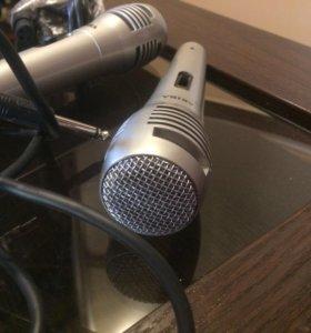 Микрофон AKIRA 2 штуки