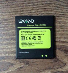 Батарея аккумулятор LEXAND NEON S4A4