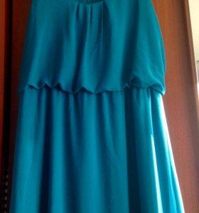 Летнее платье 46-48