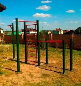 Уличные спортивные, детские площадки