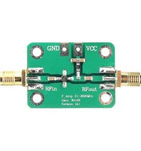 Широкополосные малошумящии усилители 0.1-2000 мГц