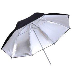 Фото зонт на отражение