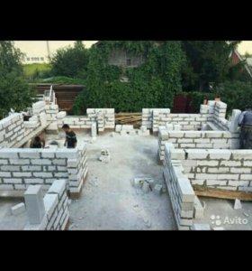 Фундаменты. Строительство дома.